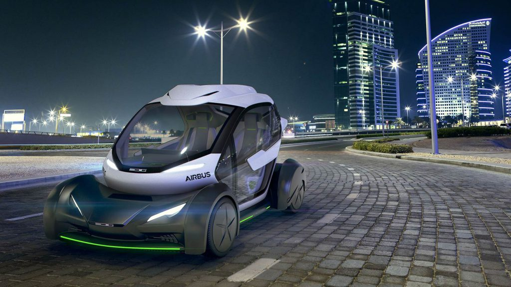 airbus et italdesign voiture futuriste salon de l'automobile genève 2017
