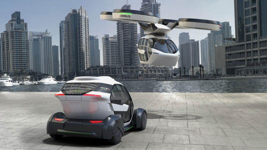 airbus voiture futuriste salon de l'automobile genève 2017