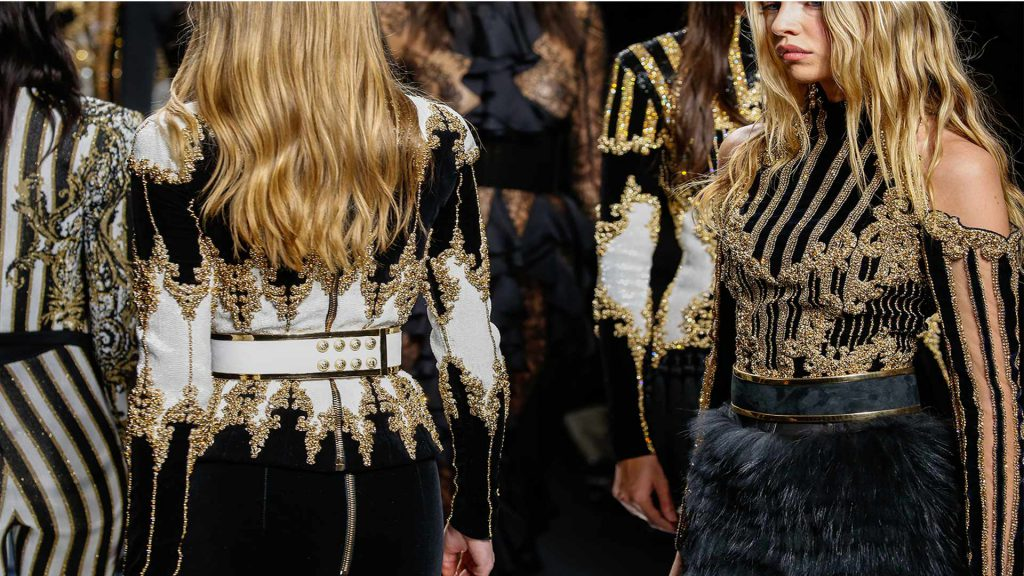 Balenciaga paris fashion week f/w 2017-2018