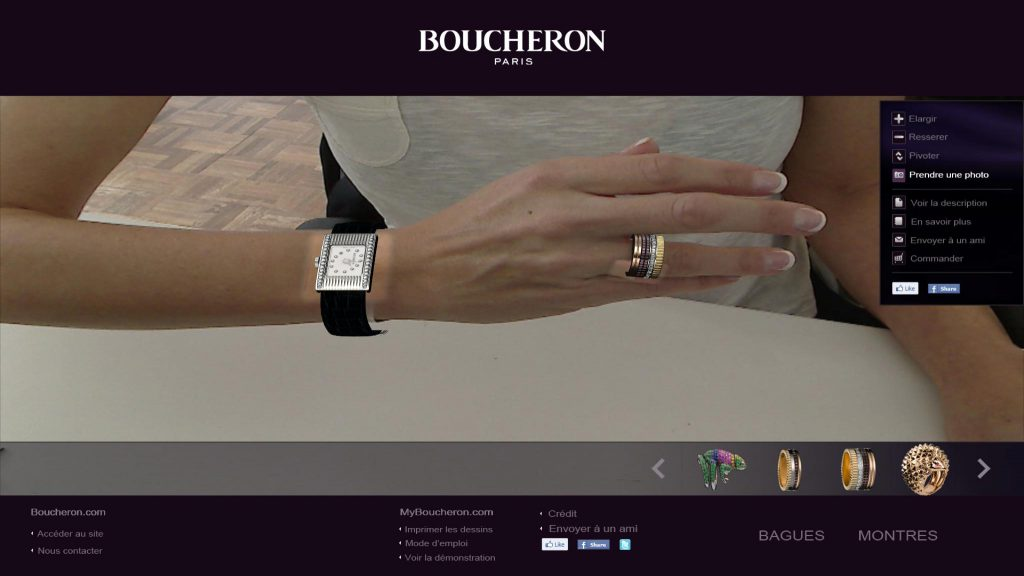 digital luxury boucheron millennials