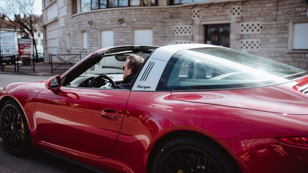 the sartorialist Porsche 911 targa
