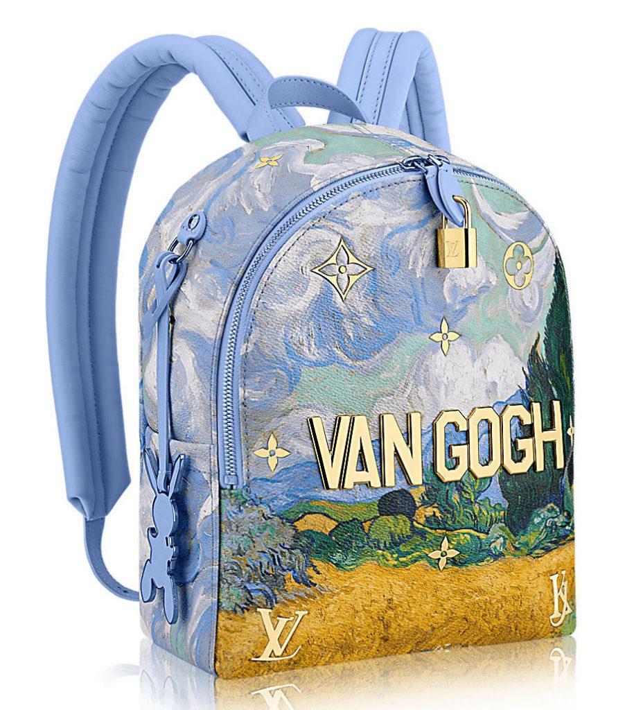 Collaboration Louis Vuitton et Jeff Koons sacs Van Gogh