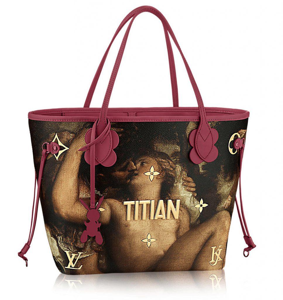 Collaboration Louis Vuitton et Jeff Koons sacs Titan