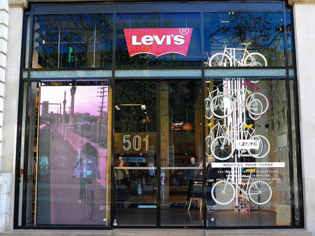 boutique levi's paris